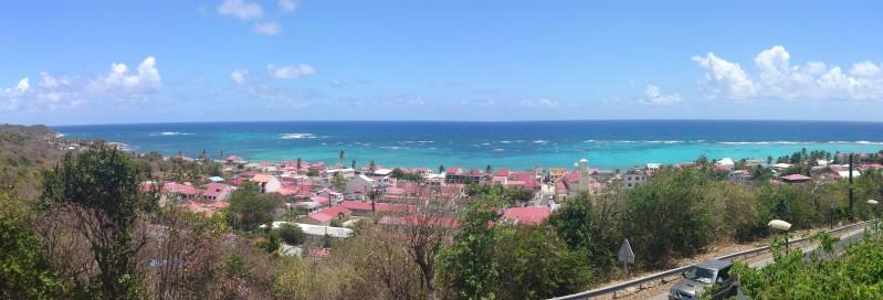 Capesterre-de-Marie-Galante vu depuis le Haut du Morne