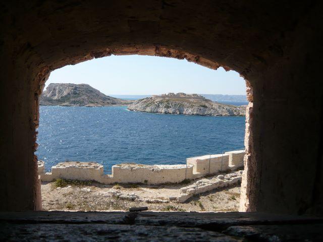 Vue depuis le château d'If