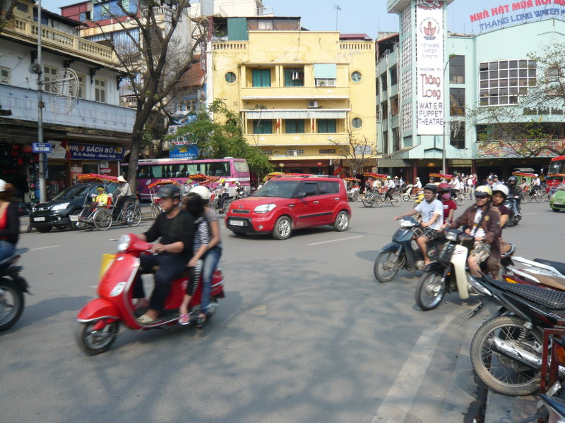Circulation à Ha noi