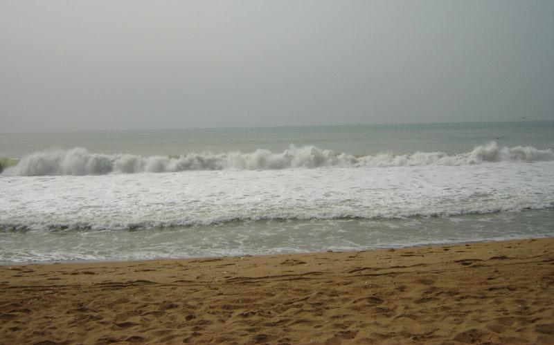 L'océan à Grand-Popo