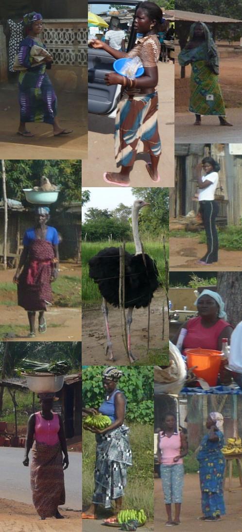 Portraits de Béninoises