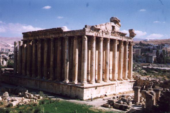 Baalbek, le temple de Bacchus