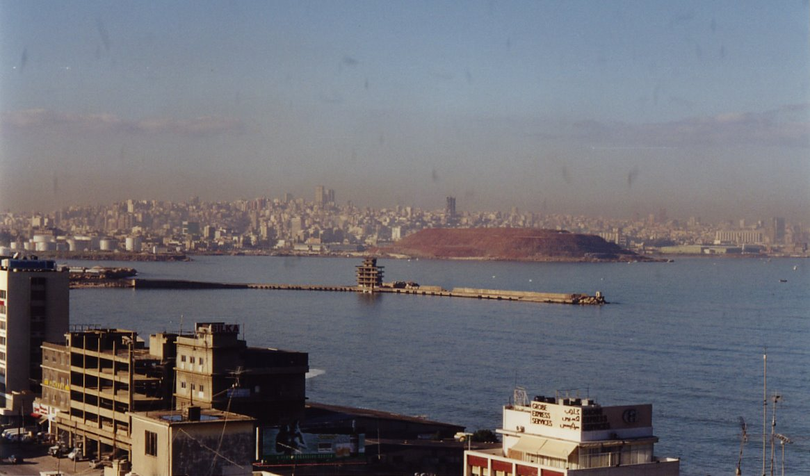 Beyrouth, depuis Jal ed Dib