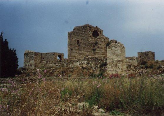 Byblos, le château des Croisés